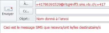 SMS Gateway en Outlook